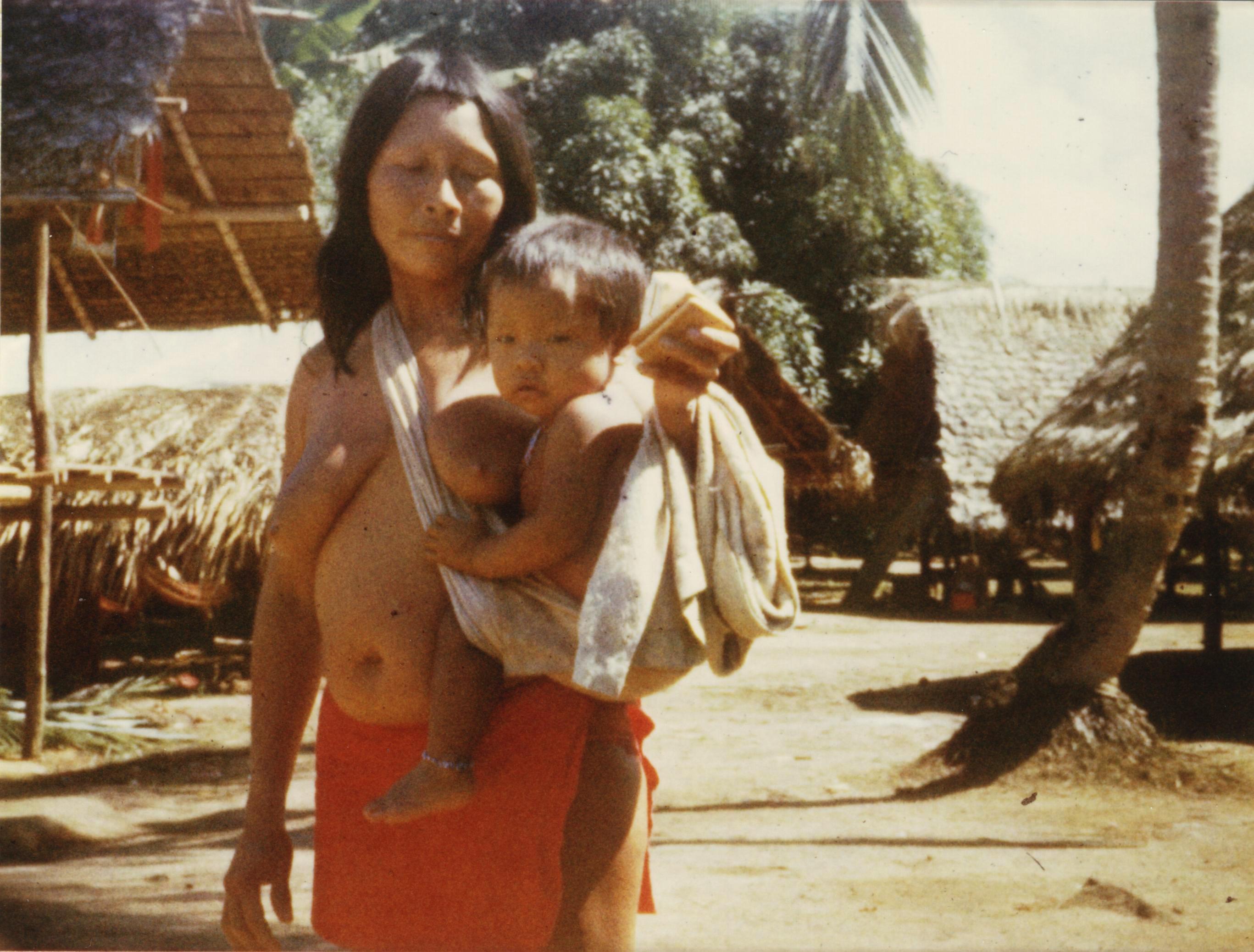 Pueblo Wayana, Guayana francesa, 1979