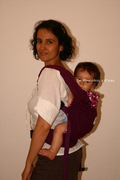 Mochila Ergo a la espalda