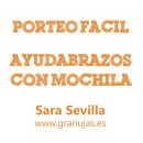 Asiento ayudabrazos con mochila, por Sara Sevilla #PorteoFacil