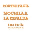 Pasar la mochila a la espalda, por Sara Sevilla #PorteoFacil