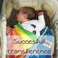 Succesfull transfer. O cómo dejar a tu bebé en la cama ;)